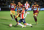 Atletico Junior derroto al Deportes Tolima  1x0<br /> en el partido de ida de los semifinales de la liga del torneo Clusura del futbol Colombiano