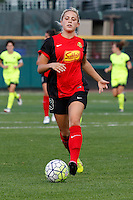 Rochester, NY - Saturday July 09, 2016: Western New York Flash defender Abigail Dahlkemper (13) during a regular season National Women's Soccer League (NWSL) match between the Western New York Flash and the Seattle Reign FC at Frontier Field.
