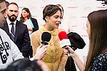 """Martina Stoessel (Tini/Violetta) attends to the premiere of the film """"Tini. El gran cambio de Violetta"""" at Callao Cinema in Madrid. April 27, 2016. (ALTERPHOTOS/Borja B.Hojas)"""