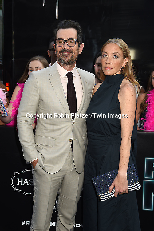 Ty Burrell and wife Holly  attend the &quot;Rough Night&quot; World Premiere on June 12, 2017 at AMCLowes Lincoln Square 13 in New York, New York, USA.<br /> <br /> photo by Robin Platzer/Twin Images<br />  <br /> phone number 212-935-0770