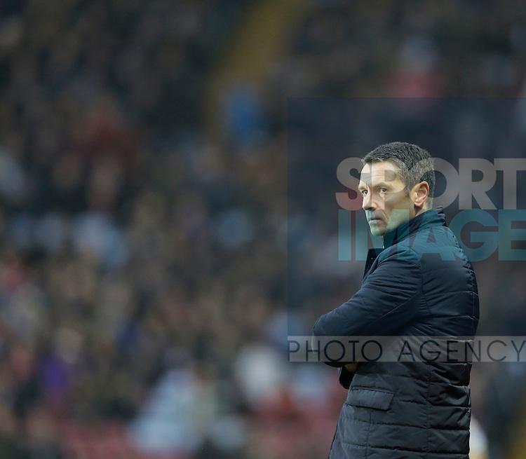 Aston Villa manager Remi Garde - Football - Barclays Premier League - Aston Villa vs Arsenal - Villa Park Birmingham - 13th December 2015 - Season 2015/2016 - Photo Malcolm Couzens/Sportimage