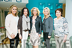 Models Geraldine Parker, Catriona Meegan, Helen Leahy, Linda Louth and Gail Daly. at the CH Chemist Tralee Lions Club Charity Fashion Show on Friday