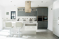 Wednesday 08 February 2017<br />Pictured: View of the Kitchen <br />Re: Huw and Kelly have moved into a new Waterstone House near Swansea, South Wales.