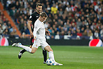 Real Madrid´s Toni Kroos during Champions League soccer match between Real Madrid  and Paris Saint Germain at Santiago Bernabeu stadium in Madrid, Spain. November 03, 2015. (ALTERPHOTOS/Victor Blanco)