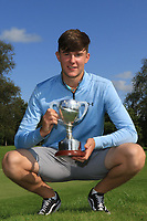 Cormac Feeney (Enniscrone) winner of the U16's Final during the Connacht U12, U14, U16, U18 Close Finals 2019 in Mountbellew Golf Club, Mountbellew, Co. Galway on Monday 12th August 2019.<br /> <br /> Picture:  Thos Caffrey / www.golffile.ie<br /> <br /> All photos usage must carry mandatory copyright credit (© Golffile | Thos Caffrey)
