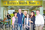 GRAND OPENING: The staff of the new Dan Horan Health Food Store with Da?ithi? O? Se? at Manor West shopping centre on Friday l-r: Nina Mansfield, Da?ithi? O? Se?, Sandra Breen, Grannie Linnane, Kay Hurley and Dan Horan.