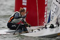 Medemblik - the Netherlands, May 30th 2010. Delta Lloyd Regatta in Medemblik (26/30 May 2010). Day 5, medal race.