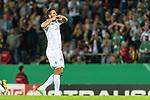 10.08.2019, wohninvest WESERSTADION, Bremen, GER, DFB-Pokal, 1. Runde, SV Atlas Delmenhorst vs SV Werder Bremen<br /> <br /> im Bild<br /> Jubel 1:5, <br /> Claudio Pizarro (Werder Bremen #14) bejubelt seinen Treffer zum 1:5, <br /> <br /> während DFB-Pokal Spiel zwischen SV Atlas Delmenhorst und SV Werder Bremen im wohninvest WESERSTADION, <br /> <br /> Foto © nordphoto / Ewert