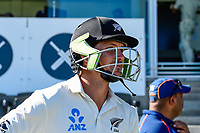 BJ Watling of the Black Caps before start of play. Day 3 of the Second International Cricket Test match, New Zealand V England, Hagley Oval, Christchurch, New Zealand, 1st April 2018.Copyright photo: John Davidson / www.photosport.nz
