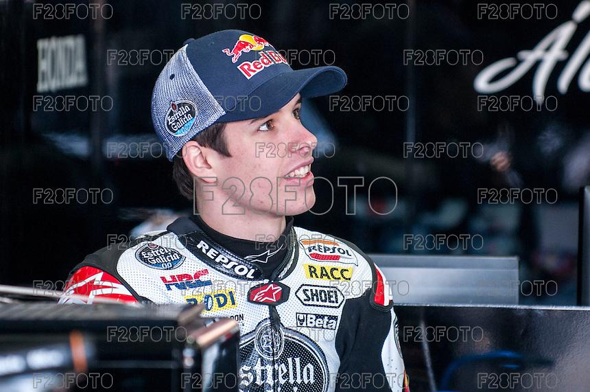 Alex Marquez al pre season winter test IRTA Moto3 & Moto2 at Ricardo Tormo circuit in Valencia (Spain), 11-12-13 February 2014