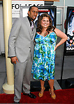 "HOLLYWOOD, CA. - May 20: Affion Crockett and Chelsea Makela arrive at the Los Angeles Premiere of ""Dance Flick"" at the ArcLight Theatre on May 20, 2009 in Hollywood, Californnia"