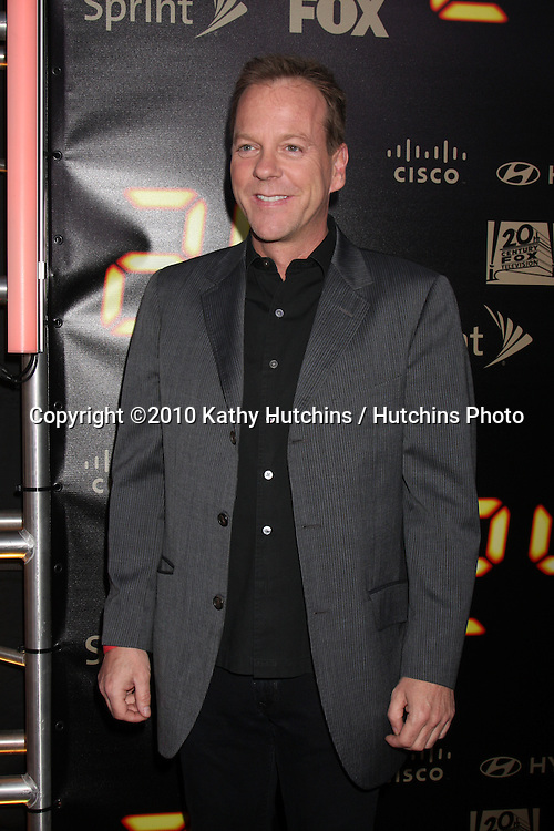"Kiefer Sutherland.arrives at the ""24"" Series Finale Party .Boulevard3.Los Angeles, CA.April 30, 2010.©2010 Kathy Hutchins / Hutchins Photo..."