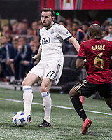 Atlanta, GA - March 17, 2018: Atlanta United FC vs Vancouver Whitecaps FC at Mercedes-Benz Stadium.  Final score Atlanta United 4, Vancouver Whitecaps 1.
