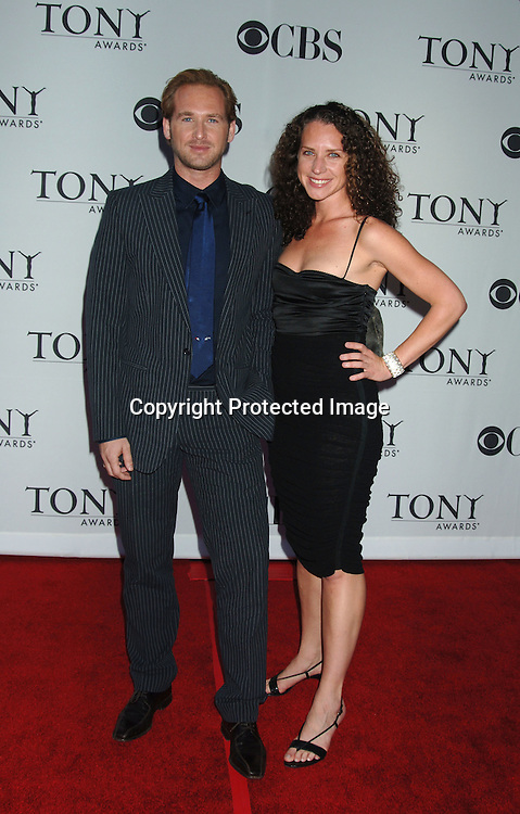Josh Lucas and sister Kate Lucas..arriving at the 60th Annual Tony Awards on June11, 2006..at Radio City Music Hall. ..Robin Platzer, Twin Images