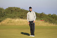 Rafa Cabrera-Bello (ESP) on the 10th green during Round 2 of the 2015 Alfred Dunhill Links Championship at Kingsbarns in Scotland on 2/10/15.<br /> Picture: Thos Caffrey | Golffile