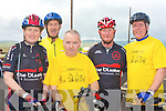 CHARITY CYCLE: Taking part in the Charity Cycle in aid of the A&E at KGH at Strand Road on Saturday l-r: Brenda Conway, Tonevane, George Poff, Lower Cannon, Seanie Kerins, Lower Cannon, Tim Houlihan, The Kerries and Pierce Heaslip, Manor.