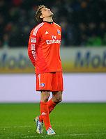 FUSSBALL   1. BUNDESLIGA    SAISON 2012/2013    15. Spieltag   VfL Wolfsburg - Hamburger SV                               02.12.2012 Torwart Rene Adler (Hamburger SV)