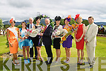 Pictured at Killarney Races Ladies Day on Thursday, from left: Tara Talbot, Molly Sullivan, Mike Murphy (Dawn Dairies) Ciara Kelly, Ger Coughlan, Emma Dellaway, Agne Kremenskiene, Yvonne Keating, and Declan Sheehan..