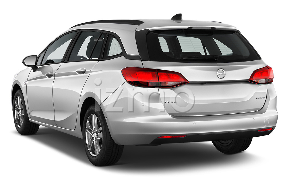 Car pictures of rear three quarter view of 2017 Opel Astra Sports Tourer Edition 5 Door Wagon angular rear