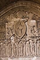 Europe/France/Midi-Pyrénées/46/Lot/Cahors: Portail Nord de la cathédrale St-Etienne- détail du tympan