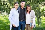 "Leonor Watling (L), Pablo Derqui (C) and Ingrid Rubio (R) during the presentation of ""Pulsaciones"" the new prime time serie of Antena 3 tv in Madrid. May 03, 2016. (ALTERPHOTOS/Borja B.Hojas)"
