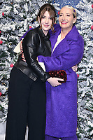 """LONDON, UK. November 11, 2019: Emma Thompson and daughter, Gaia arriving for the """"Last Christmas"""" premiere at the BFI Southbank, London.<br /> Picture: Steve Vas/Featureflash"""