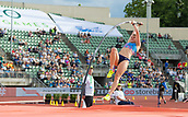 June 15th 2017, Bislett Stadion , Oslo, Norway; Diamond League Oslo Bislett Games;  Alyssa Newman of Canada competes in the ladies pole vault during the IAAF Diamond League held at the Bislett Stadium