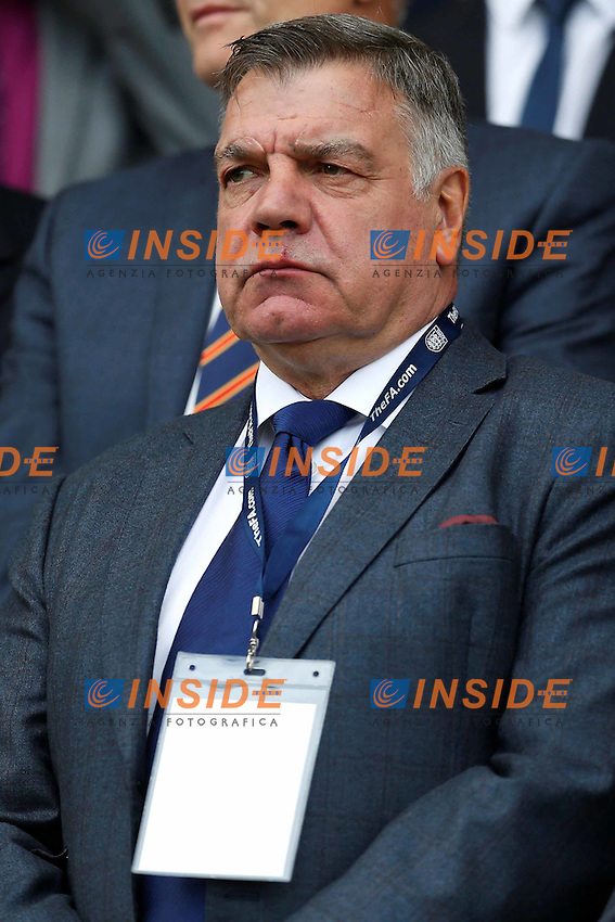 FILE PHOTO -  Britain Football Soccer - England v Norway - UEFA European Under 21 Championship Qualifying Group Nine - Weston Homes Community Stadium - 6/9/16England manager Sam Allardyce in the stands <br /> Foto Panoramic / Insidefoto <br /> ITALY ONLY
