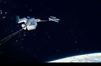 Gravity (2013)  <br /> *Filmstill - Editorial Use Only*<br /> CAP/KFS<br /> Image supplied by Capital Pictures