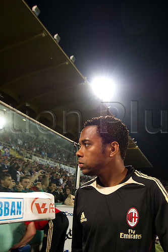 Robinho (Milan), APRIL 10, 2011 - Football Italian Serie A  match between Fiorentina 1-2 AC Milan at Stadio Artemio Franchi in Florence, Italy.
