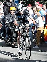 Christopher Froome during the stage of La Vuelta 2012 between Palas de Rei and Puerto de Ancares.September 1,2012. (ALTERPHOTOS/Paola Otero) NortePhoto.com<br /> <br /> **CREDITO*OBLIGATORIO** <br /> *No*Venta*A*Terceros*<br /> *No*Sale*So*third*<br /> *** No*Se*Permite*Hacer*Archivo**<br /> *No*Sale*So*third*