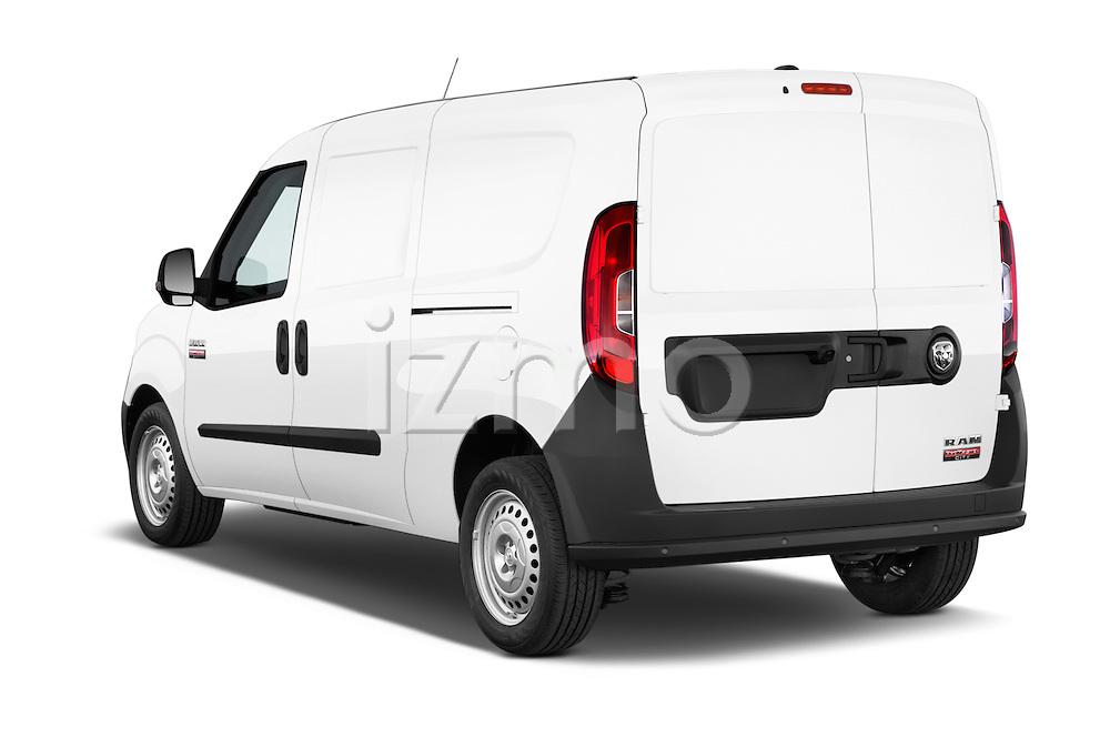 Car pictures of rear three quarter view of a 2015 Ram Promaster City Trademans 4 Door Cargo Van angular rear
