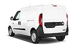 Car pictures of rear three quarter view of a 2017 Ram Promaster City Trademans 4 Door Cargo Van angular rear