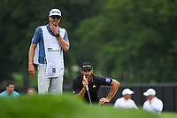 Dustin Johnson (USA) looks over the green on 1 during Rd3 of the 2019 BMW Championship, Medinah Golf Club, Chicago, Illinois, USA. 8/17/2019.<br /> Picture Ken Murray / Golffile.ie<br /> <br /> All photo usage must carry mandatory copyright credit (© Golffile   Ken Murray)