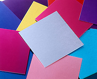 ANODIZED ALUMINUM SHEETS<br /> Sheets are given a thick oxide coating which is porous enough to hold printing inks that would not stick to aluminum under normal oxidation.