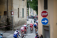 peloton passing through town<br /> <br /> Stage 2: Bologna to Fucecchio (200km)<br /> 102nd Giro d'Italia 2019<br /> <br /> ©kramon