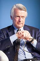 Ferruccio de Bortoli è un giornalista italiano. È stato due volte direttore del Corriere della Sera, dal 1997 al 2003 e dal 2009 al 2015, nonché direttore del Sole 24 Ore dal 2005 al 2009. Dal 2015 è presidente dell'Associazione Vidas di Milano. Tempo di libri, Milano 20 aprile 2017. © Leonardo Cendamo