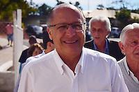 SERRA NEGRA,SP - 08.07.2016 - ALCKMIN-SP - O Governador, Geraldo Alckmin, durante entrega de 98 apartamentos populares do projeto da CDHU,em Serra Negra, interior do estado de São Paulo, na tarde desta sexta-feira,08. (Foto: Eduardo Carmim/Brazil Photo Press)