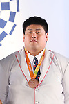 Kento Masaki, <br /> SEPTEMBER 21, 2016 : <br /> Olympic and Paralympic flags raising ceremony <br /> in Tokyo, Japan.  <br /> (Photo by Yohei Osada/AFLO SPORT)