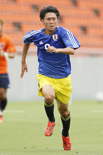 Yusuke Morooka,<br /> JULY 1, 2014 - Football / Soccer : <br /> Training match between U-19 Japan 1-2 Omiya Ardija<br /> at NACK5 Stadium Omiya, Saitama, Japan. <br /> (Photo by SHINGO ITO/AFLO SPORT)