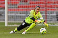 Chicago, IL - Saturday July 30, 2016: Nicole Barnhart during a regular season National Women's Soccer League (NWSL) match between the Chicago Red Stars and FC Kansas City at Toyota Park.