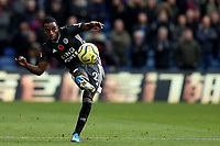 3rd November 2019; Selhurst Park, London, England; English Premier League Football, Crystal Palace versus Leicester City; Ricardo Pereira of Leicester City  - Strictly Editorial Use Only. No use with unauthorized audio, video, data, fixture lists, club/league logos or 'live' services. Online in-match use limited to 120 images, no video emulation. No use in betting, games or single club/league/player publications