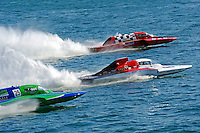 "Brandon Kennedy, GP-25 ""EMS Survior"", Ken Brodie II, GP-50 ""Intensity""  and Tom Thompson, GP-525 ""Fat Chance"" (Grand Prix Hydroplane(s)"