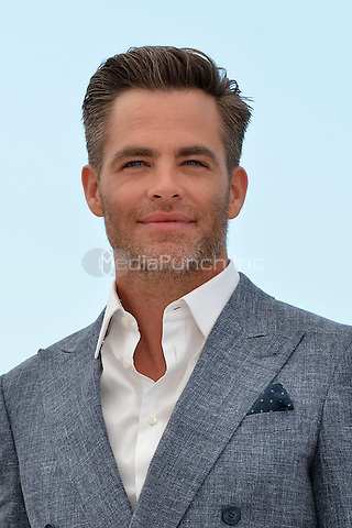 Chris Pine at the Photocall 'Hell or high Water' - 69th Cannes Film Festival on May 16, 2016 in Cannes, France.<br /> CAP/LAF<br /> &copy;Lafitte/Capital Pictures /MediaPunch ***NORTH AND SOUTH AMERICA ONLY***