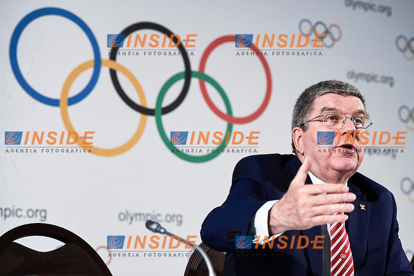 Thomas Bach Presidente del CIO <br />