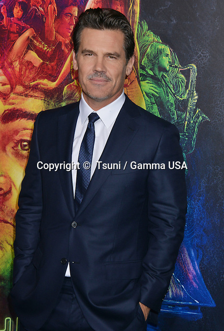 Josh Brolin 232 at the  Inherent Vice  Premiere at the TCL Chinese Theatre in Los Angeles.