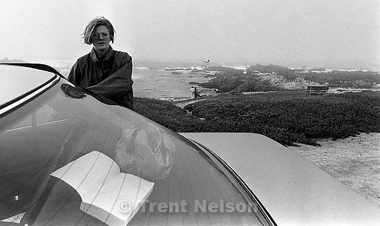 Laura Nelson at the beach<br />