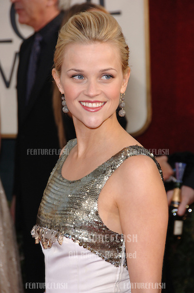 REESE WITHERSPOON at the 63rd Annual Golden Globe Awards at the Beverly Hilton Hotel..January 16, 2006  Beverly Hills, CA.© 2006 Paul Smith / Featureflash