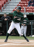 May 3, 2004:  Outfielder Grady Sizemore of the Buffalo Bisons, International League (AAA) affiliate of the Cleveland Indians, during a game at Dunn Tire Park in Buffalo, NY.  Photo by:  Mike Janes/Four Seam Images