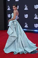 14 November 2019 - Las Vegas, NV - Alejandra Espinoza. 2019 Latin Grammy Awards Red Carpet Arrivals at MGM Grand Garden Arena. Photo Credit: MJT/AdMedia